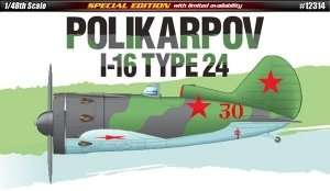 Fighter Polikarpov I-16 - Academy 12314