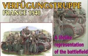 Dragon 6309 Figurki Verfugungstruppe - France 1940