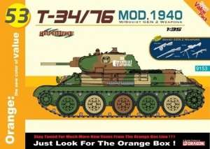 Tank model T34-76 mod.1940 - Dragon 9153