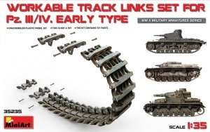 MiniArt 35235 Workable Track Links Set for Pz.III/IV
