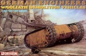 Dragon 6103 German Engineers w/Goliath Demolition Vehicles
