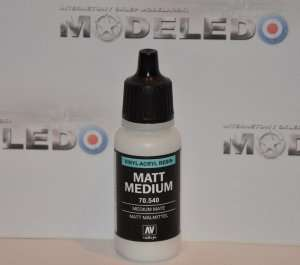 Vallejo 70540 Matt Medium 17ml