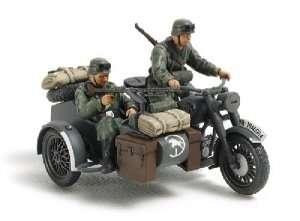 Tamiya 32578 German Motorcycle & Sidecar