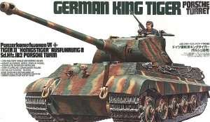 Tamiya 35169 German King Tiger - Porsche Turret