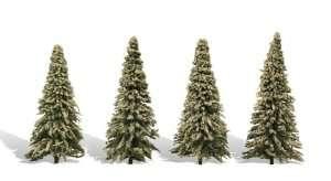 Woodland TR3569 Drzewa - choinki 4szt
