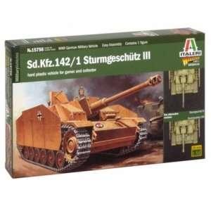 Model Italeri 15756 WWII Stug III do sklejania