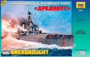 Zvezda 9039 British battleship HMS Dreadnought