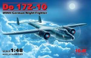 ICM 48243 Do 17Z-10 WWII German Night Fighter