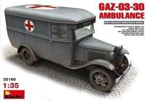 Model GAZ-03-30 Ambulance skala 1:35 MiniArt 35160