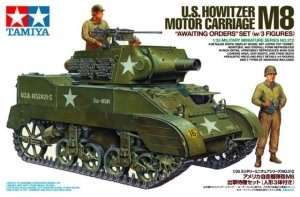 Tamiya 35312 U.S. Howitzer Motor Carriage M8