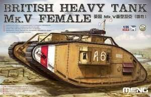 Meng Ts-029 British Heavy Tank Mk.V Female