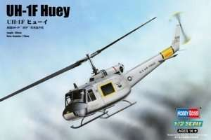 Model helikoptera UH-1F Huey 1:72 Hobby Boss 87230