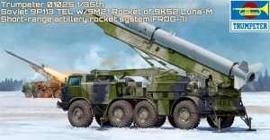Wyrzutnia rakiet Luna-M Trumpeter 01025