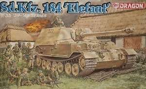 Dragon 6126 tank destroyer Sd.Kfz.184 Elefant