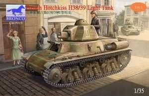 Czołg lekki Hotchkiss H38/39 Bronco 35019