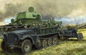Dragon 6732 Sd.Kfz.10 Ausf.A w/5cm PaK 38