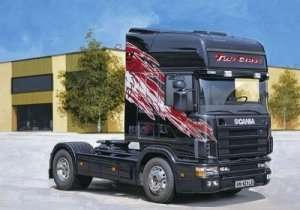 Italeri 3819 Ciężarówka Scania 164 L Top Class 580CV