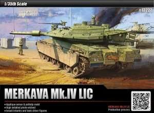Model Academy 13227 czołg Merkava Mk.IV LIC