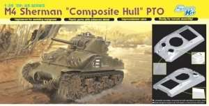 Dragon 6441 Tank M4 Sherman Composite Hull PTO