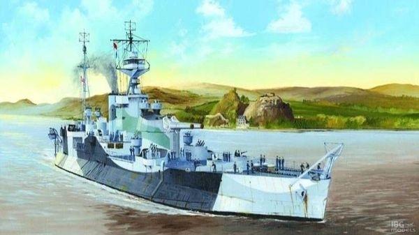 Okręt HMS Abercrombie Monitor - Trumpeter 05336