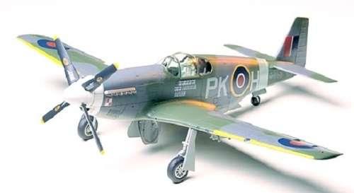 Amerykański myśliwiec RAF Mustang III, plastikowy model do sklejania Tamiya 61047 w skali 1:48