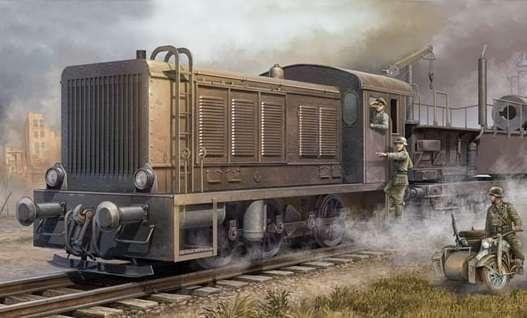 Niemiecka lokomotywa WR 360 C12, plastikowy model do sklejania Trumpeter 00216 w skali 1:35