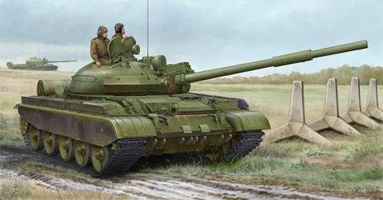 Czołg T-62 mod. 1984, plastikowy model do sklejania Trumpeter 01553 w skali 1:35