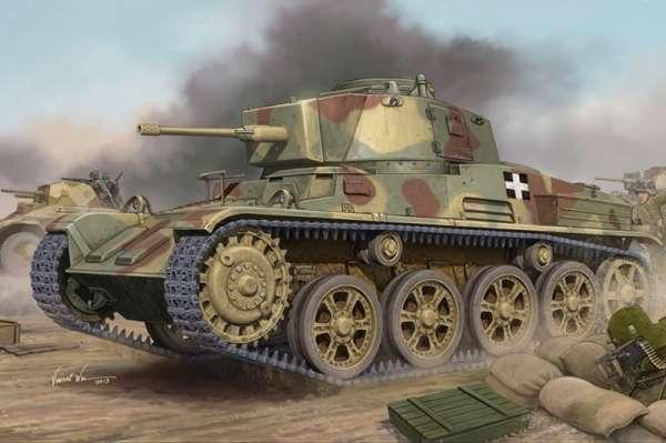 Węgierski czołg lekki 43M Toldi III (C40), plastikowy model do sklejania Hobby Boss 82479 w skali 1:35