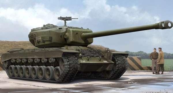 Amerykański prototypowy czołg ciężki T29E1, plastikowy model do sklejania Hobby Boss 84510 w skali 1:35