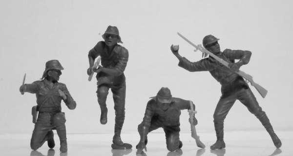Figures US Infantry WWI ICM 35693