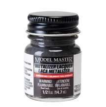 Modelarska farba Model Master 1415 w kolorze Burnt Metal Metalizer o pojemności 14,7 ml.