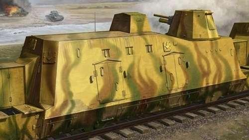Pancerny wagon Geschutzwagen - model Trumpetera w skali 1/35 - 01509-image_Trumpeter_01509_1