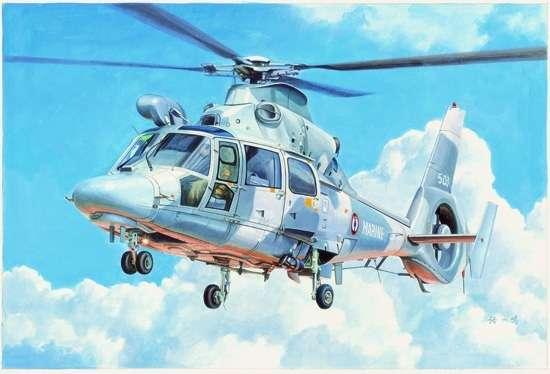 Helikopter AS565 Panther plastikowy_model_do_sklejania_trumpeter_05108_image_1-image_Trumpeter_05108_1