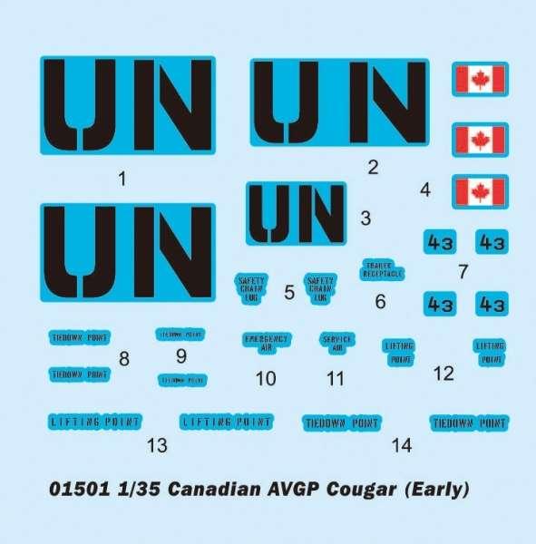 Trumpeter 01501 Canadian AVGP Cougar