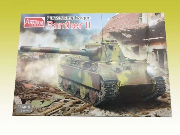 Amusing Hobby 35A018 w skali 1:35 - model Pzkpfw. Panther II - image a
