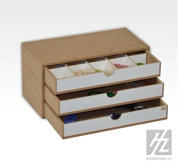 Organizer modułowy z 3 szufladkami - OM02a