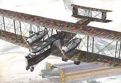 Ciężki bombowiec Zeppelin Staaken R.VI - Roden 055