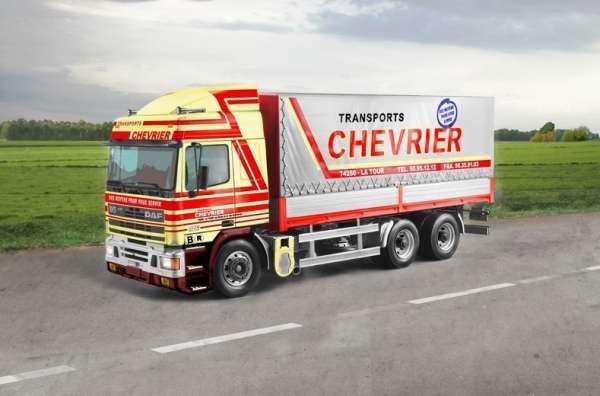 Holenderska ciężarówka DAF 95 Canvas, plastikowy model do sklejania Italeri 3914 w skali 1:24.-image_Italeri_3914_1