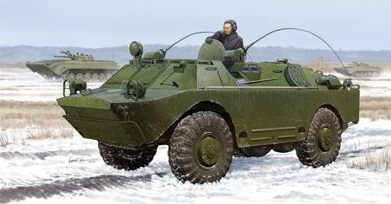 Rosyjski opancerzony samochód BRDM-2UM , plastikowy model do sklejania Trumpeter 05514 w skali 1:35