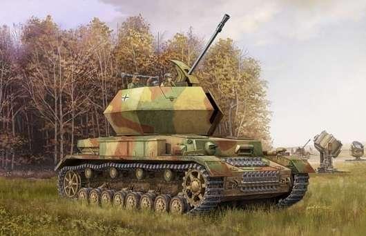 Niemieckie samobieżne działo przeciwlotnicze 3,7 cm Flak Flakpanzer IV