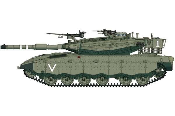 Izraelski czołg Merkawa Mk.IIID (LIC), plastikowy model do sklejania Hobby Boss 82917 w skali 1:72