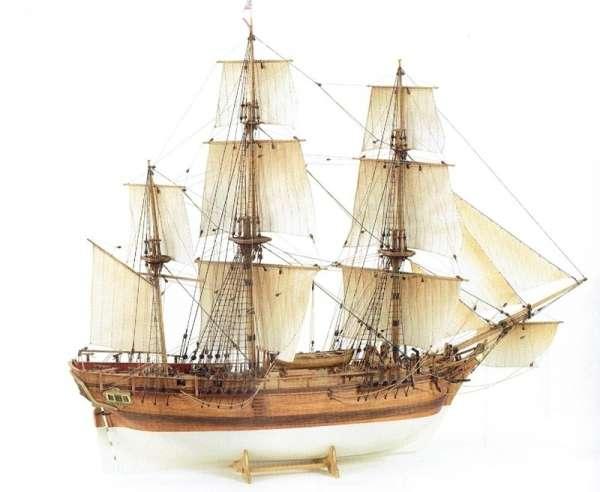 Billing_Boats_HMS_Bounty_BB492 - drewniany model żaglowca do sklejania, modeledo.pl_sklep_modelarski_image_1