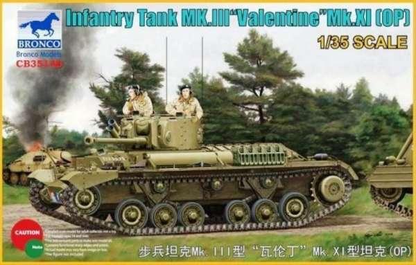 model_do_sklejania_bronco_cb35146_infantry_tank_mk_iii_valentine_mk_xi_op_sklep_modelarski_modeledo_image_1