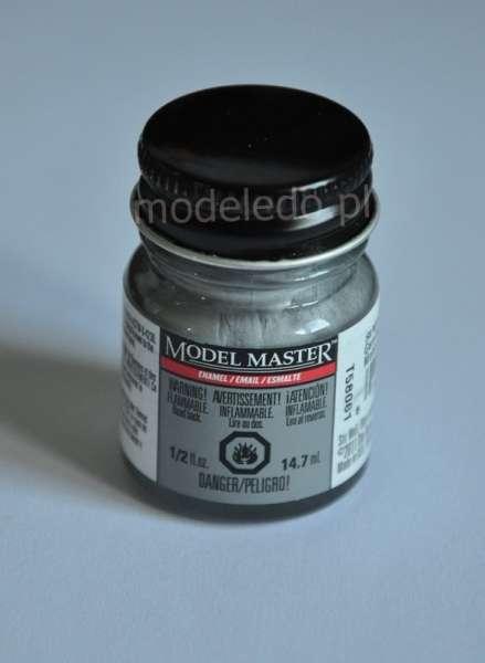 Modelarska farba Model Master 2734 w kolorze Chrome Silver o pojemności 14,7 ml.
