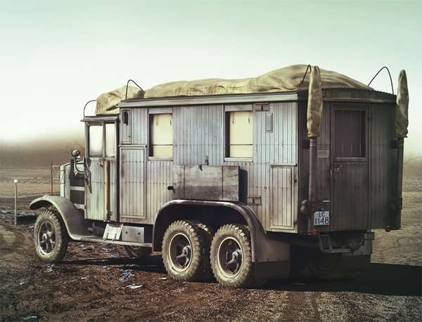 ICM 35462 Krupp L3H163 Kfz.72 German Radio Communication Truck