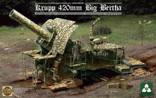 Niemiecki ciężki moździeż oblężniczy kalibru 420 mm potocznie zwany