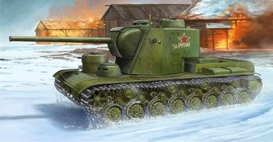 Radziecki super ciężki czołg KW-5, plastikowy model do sklejania Trumpeter 05552 w skali 1:35