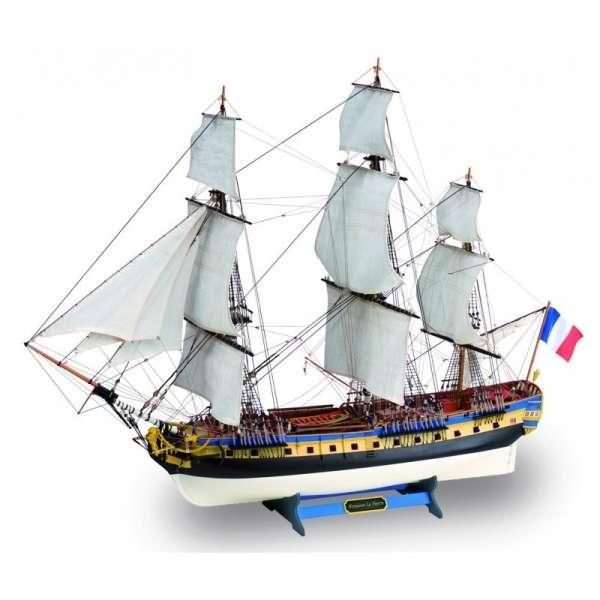 model_drewniany_do_sklejania_artesania_22517_n_statek_fregata_hermione_la_fayette_sklep_modelarski_modeledo_image_1