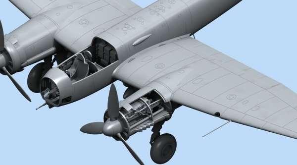 ICM 48234 Ju 88A-14 German Bomber