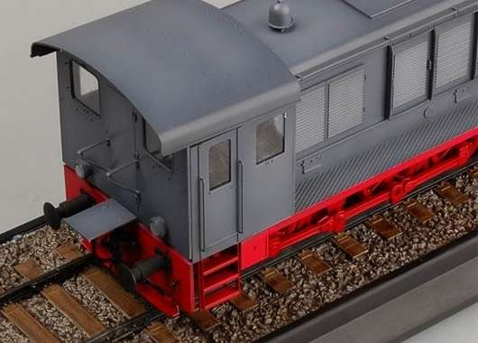 Trumpeter 00216 w skali 1:35 - model German WR 360 C12 Locomotive do sklejania - image d